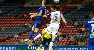PHOTO GALLERY – A-LEAGUE- NEWCASTLE JETS V PERTH GLORY