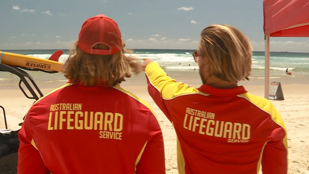 Lifeguards ...