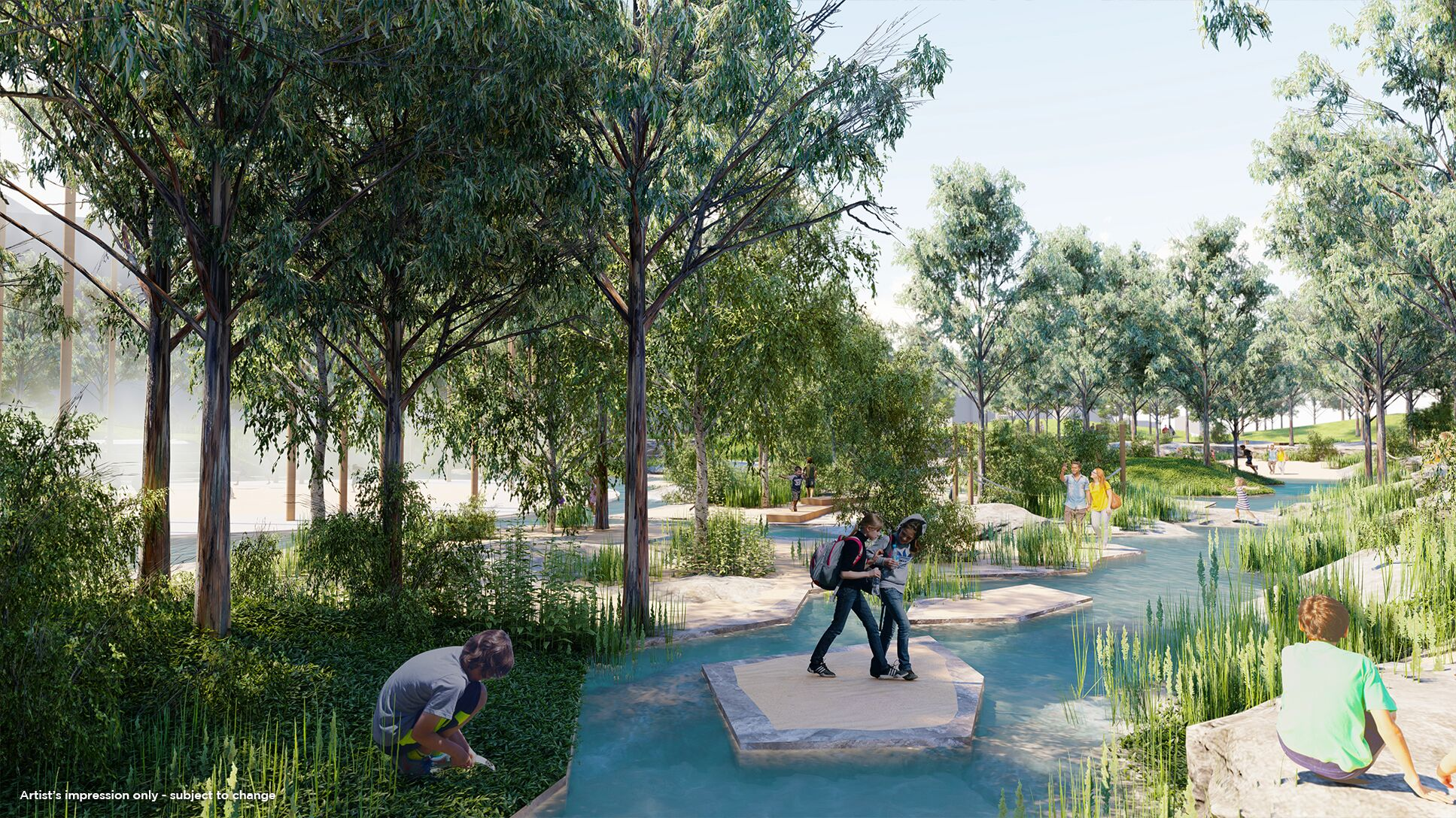 Nbn News Nature Inspired Water Park Plans For Gosford Cbd