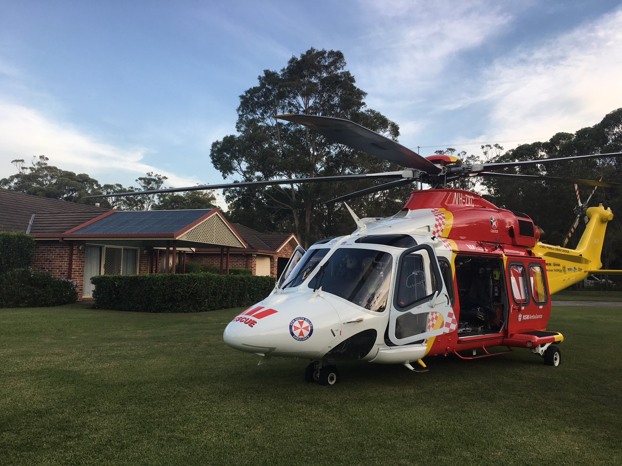 Photo via Westpac Rescue Helicopter Service