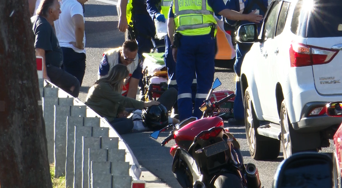 NBN News | MOTORBIKE RIDERS AIRLIFTED AFTER CENTRAL COAST CRASH