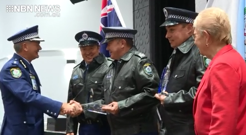 NBN News   POLICE RECOGNISED AT AWARDS CEREMONY IN PORT
