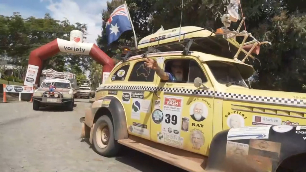 NBN News | VARIETY BASH REACHES PORT DOUGLAS AFTER EPIC 10-DAY JOURNEY