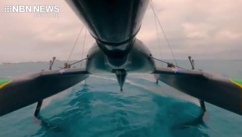 hull of catamaran oracle
