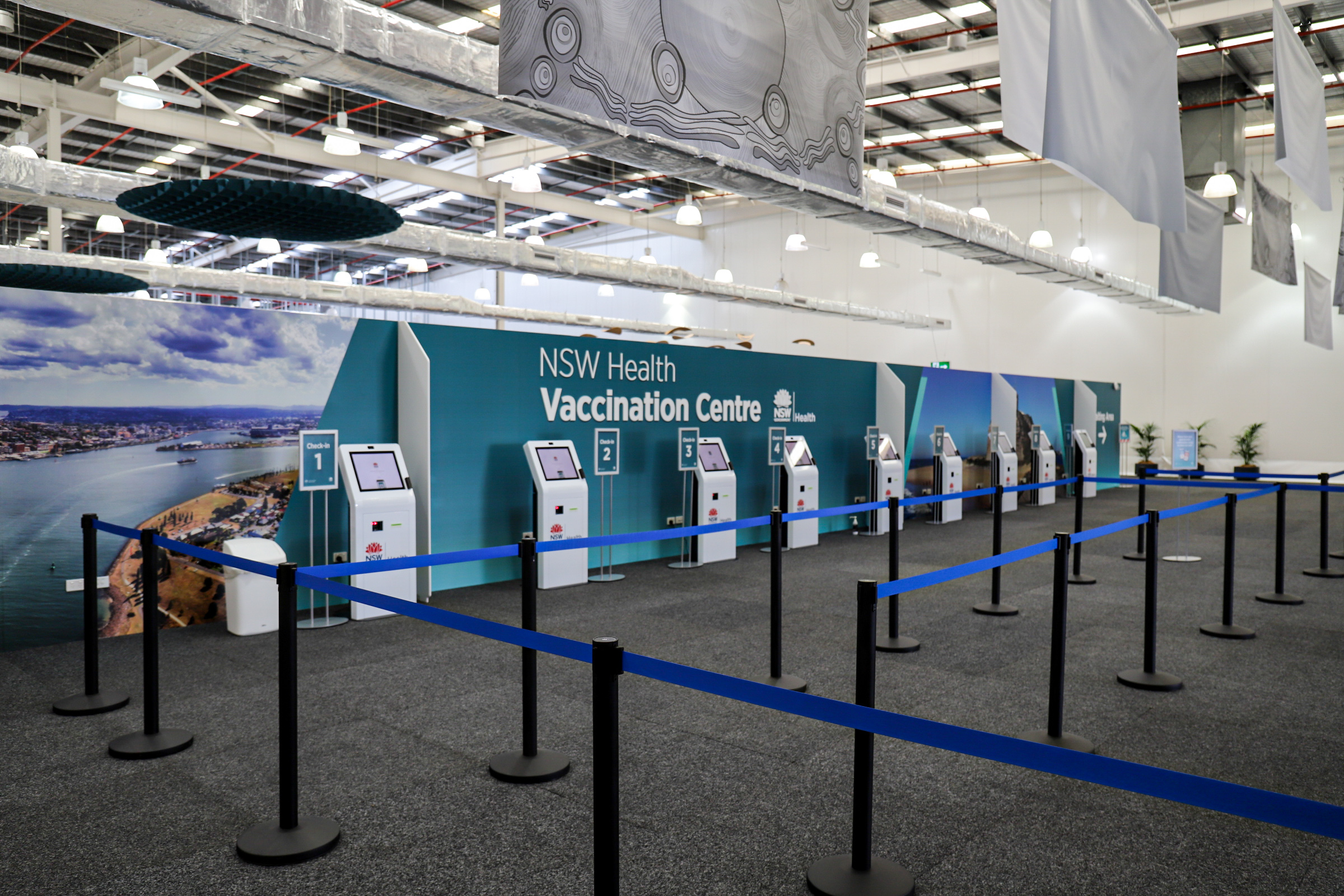 VACCINATION APPOINTMENTS CANCELLED IN REGIONAL AREAS